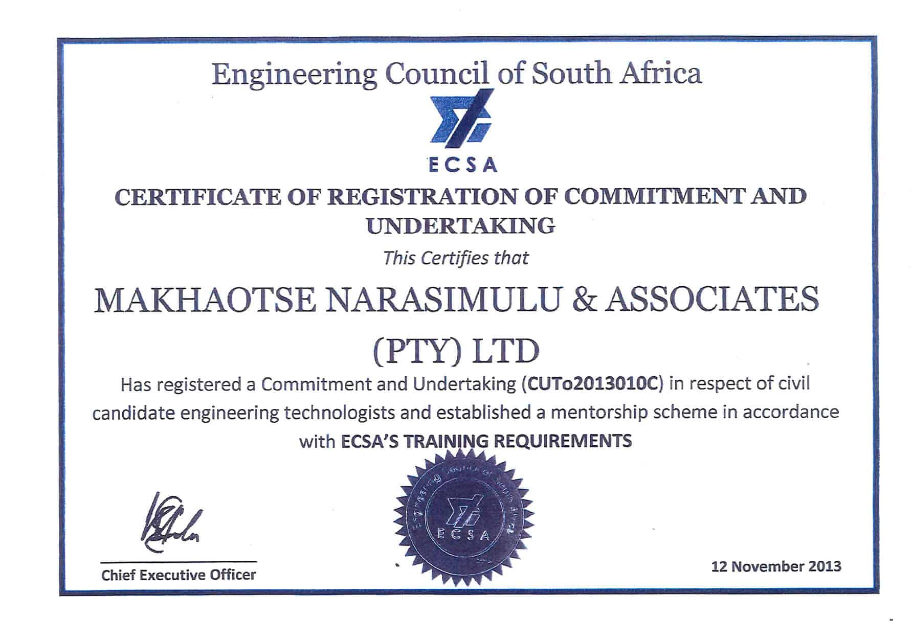 Affiliate of the institute of municipal engineering